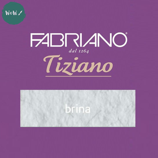 Tiziano sheets 50 x 65cm- 160gsm- Colour: Brina PACK OF 8