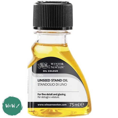 Oil Painting Oils- Winsor & Newton Linseed Stand Oil 75ml