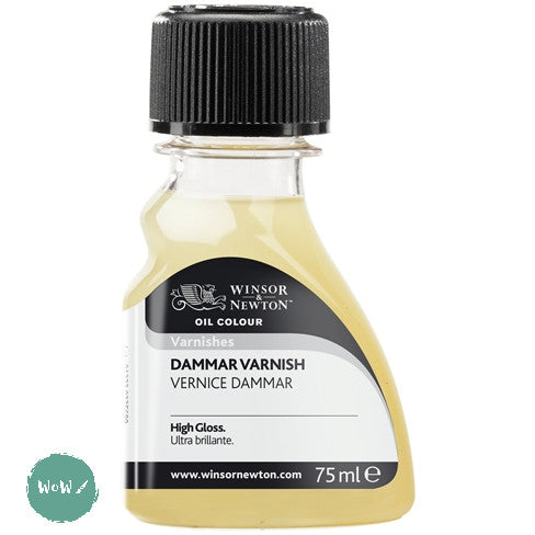 Varnish (Brush Applied)- Winsor & Newton 75ml DAMMAR VARNISH