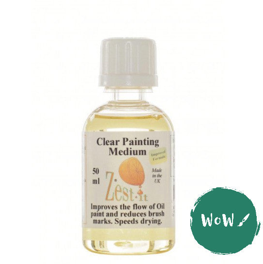 Zest-it Clear Painting Medium 50ml