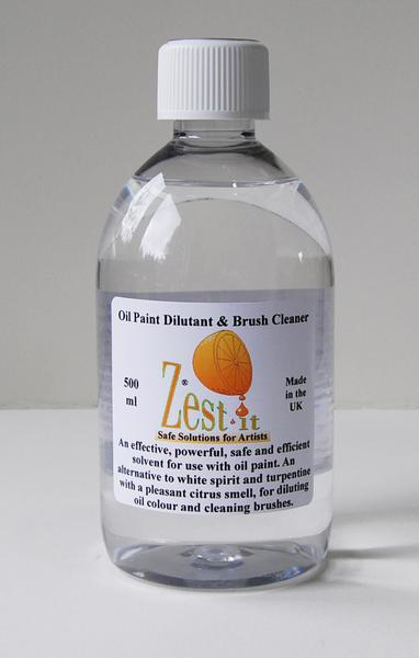 Zest-it Oil Paint Dilutant and Brush Cleaner 250ml