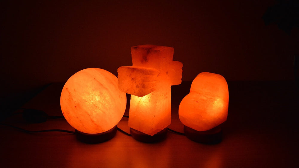All Crafted Salt Lamps
