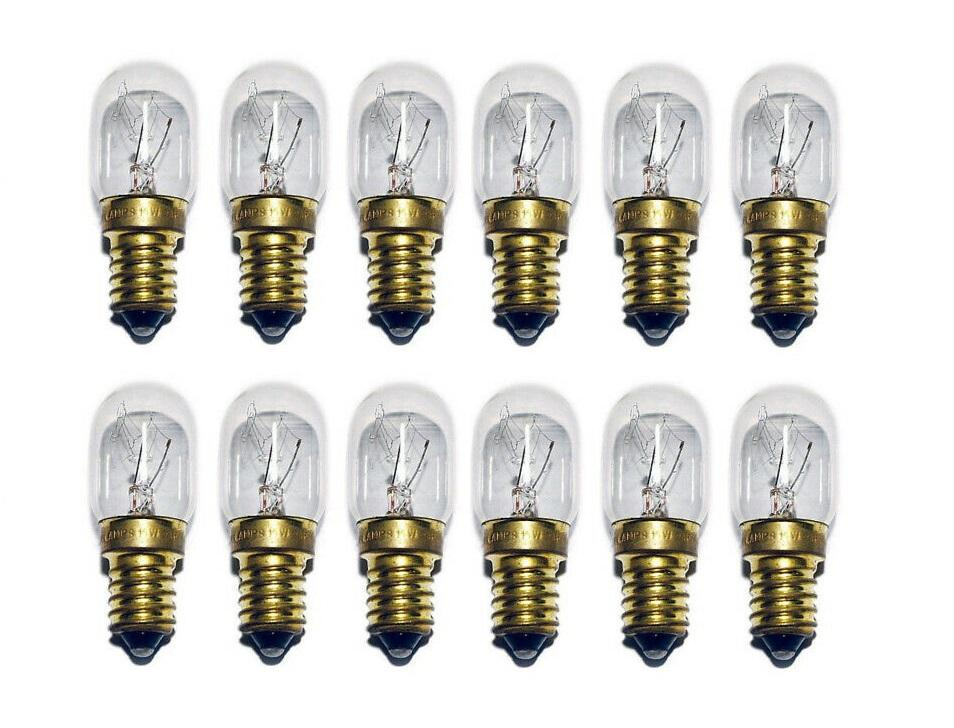 12 x 15-Watt Australian Salt Lamp Replacement Bulbs