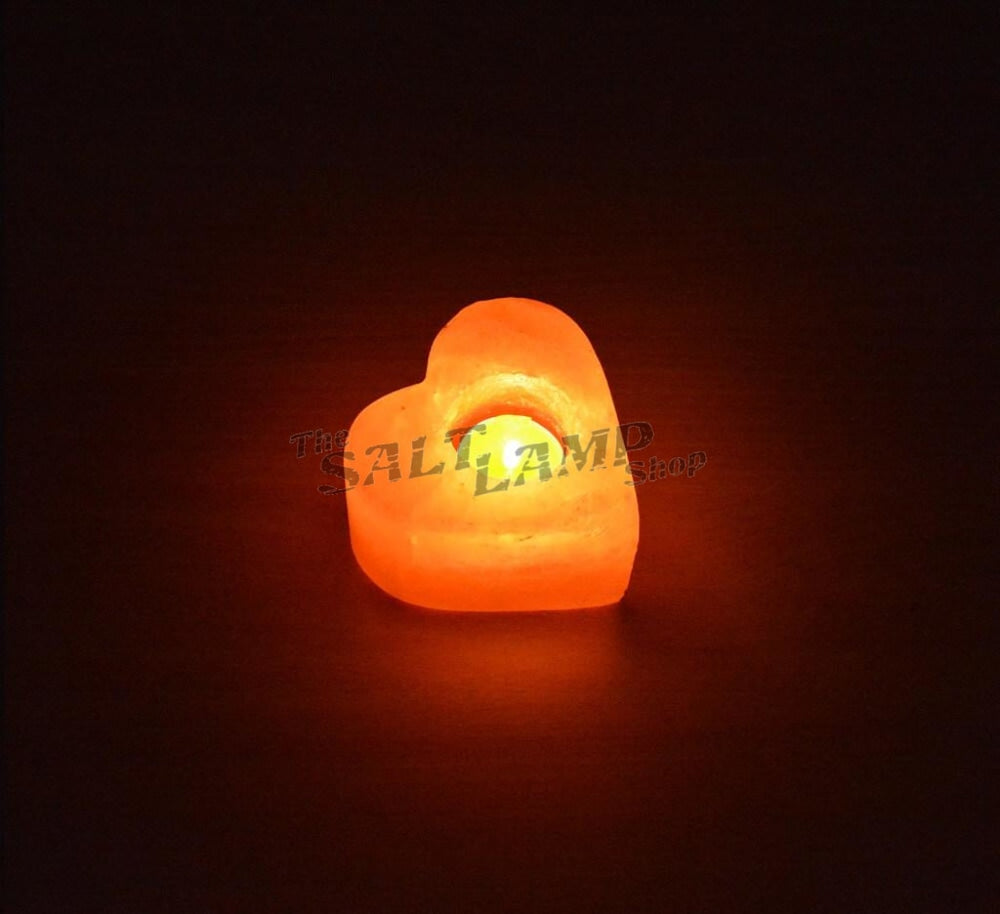 Heart Himalayan Salt Candle
