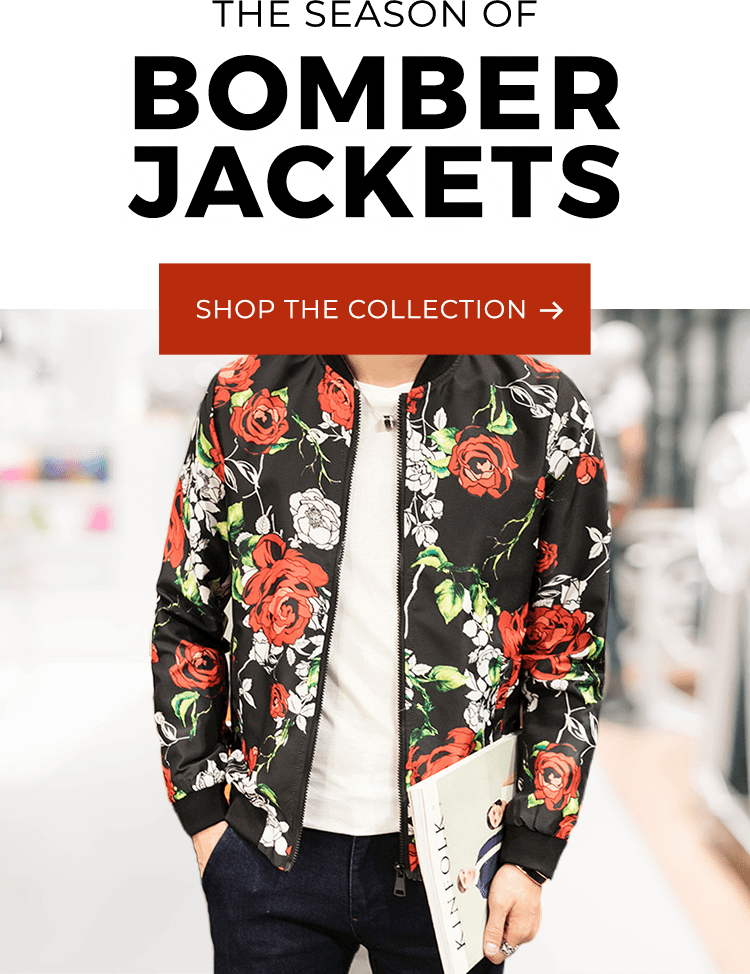 the season of bomber jackets