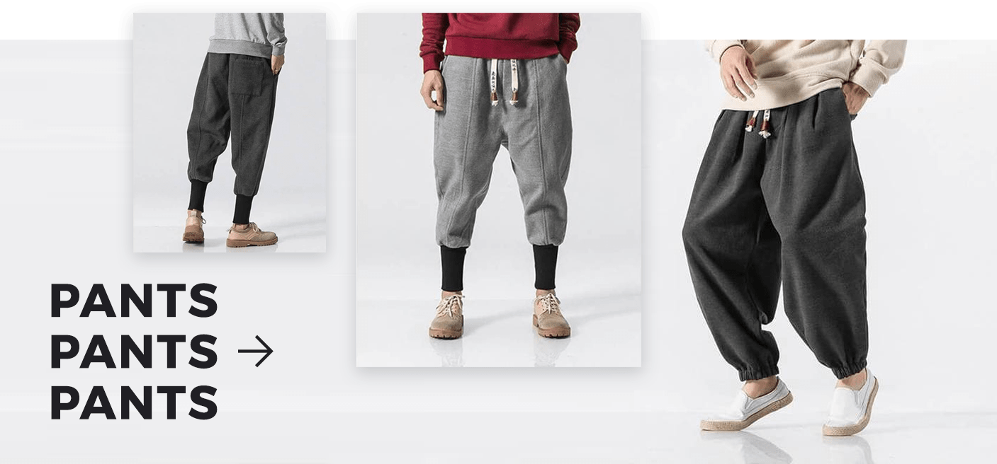 casual effortless men pants
