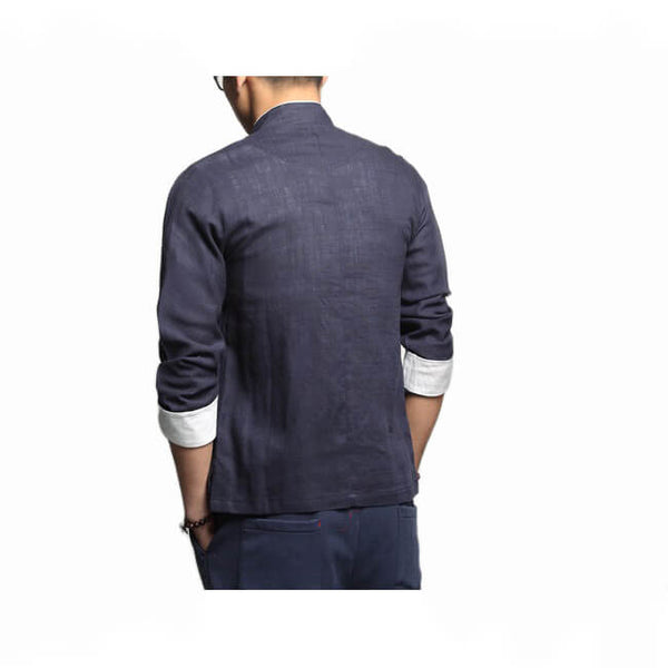 Hasi Long Sleeve Cardigan Shirt