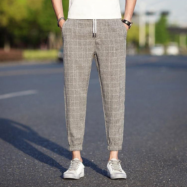 Bentowi Checkered Pants