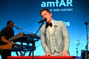 Charlie Puth at the 2020 AMFAR Gala in New York