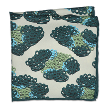 Brass Knuckles Leopard Pocket Square - Green - Shawn Christopher