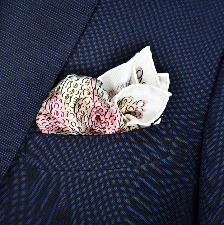 Brass Knuckles Camouflage Pocket Square - Duomo - Shawn Christopher
