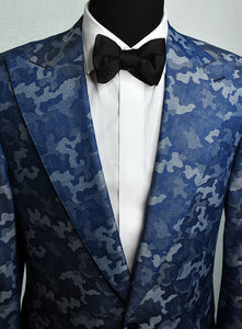 Wide Line Bow Tie - Satin - Shawn Christopher