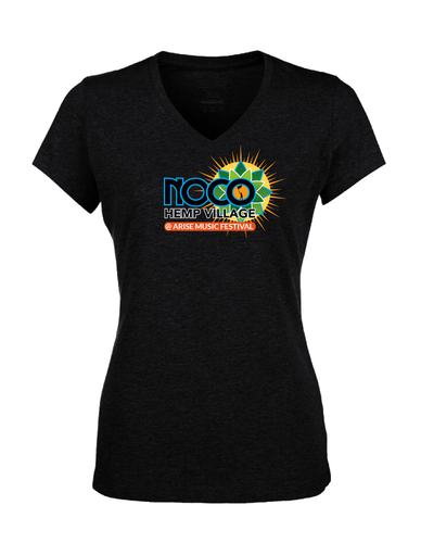 NoCo Hemp Village at Arise Festival - Women's T-shirt