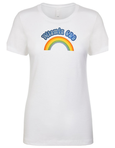 Vitamin CBD Rainbow T-shirt