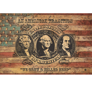 Founding Fathers - We Grew and Milled Hemp - Poster