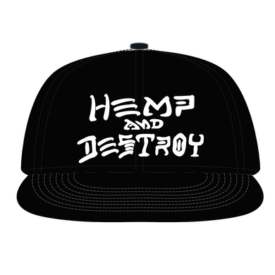 Hemp and Destroy Hat