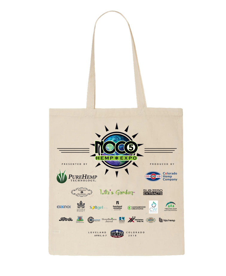 NoCo5 Hemp Expo Tote Bag