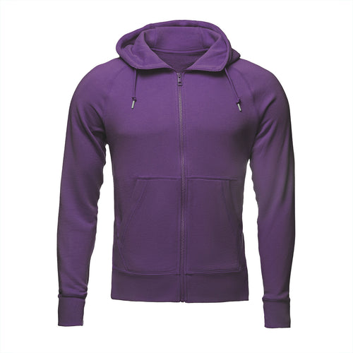 Woman's Purple Hemp Hoodie