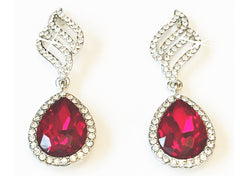 Opulent Red Earrings by SommerSparkle
