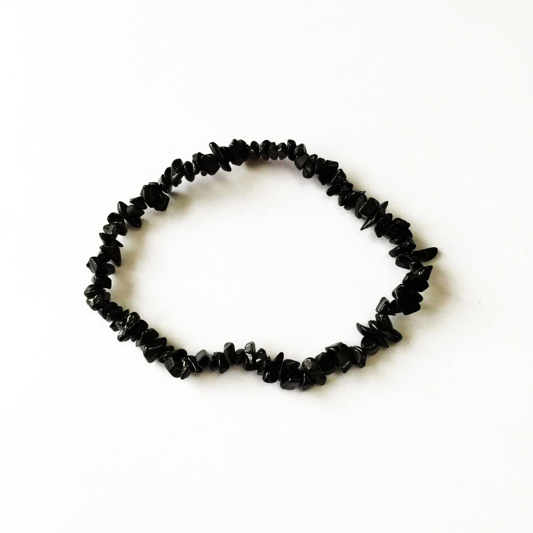 'Beatrice' Black Tourmaline Gemstone Bracelet by SommerSparkle