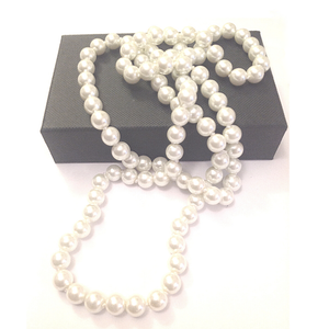 Classic Pearl Bead Necklace