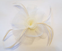 Cream Fascinator, Suitable for any occasion including cocktail parties, a day at the races, corporate events, funerals and other formal occasions