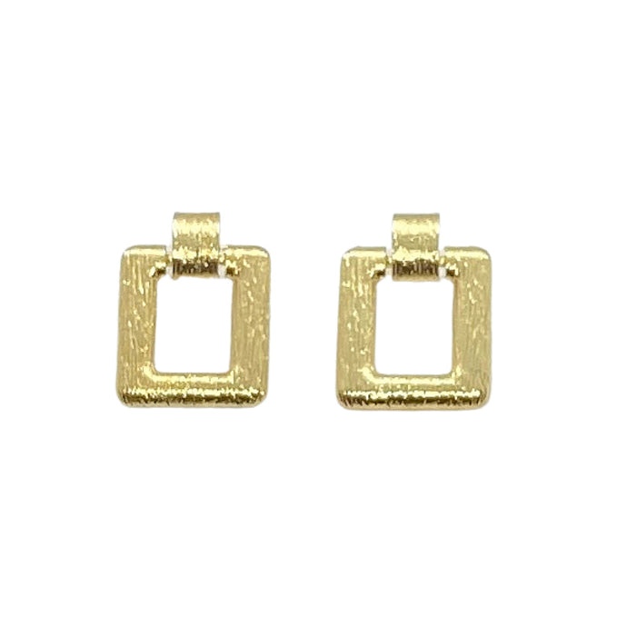 'Diana' Rectangle Earrings by SOMMERSPARKLE