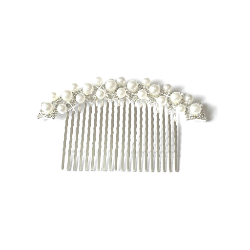 'Felicity' Pearl & Crystal Comb