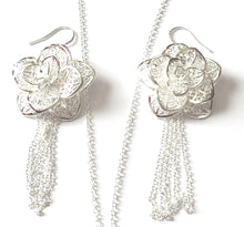 Floral Filigree Jewellery Set