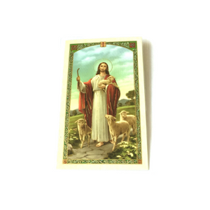 'Footprints' Prayer Card