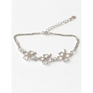 'Lucky' Clover Bracelet, A perfect bracelet gift for St. Patrick's Day or to wear everyday