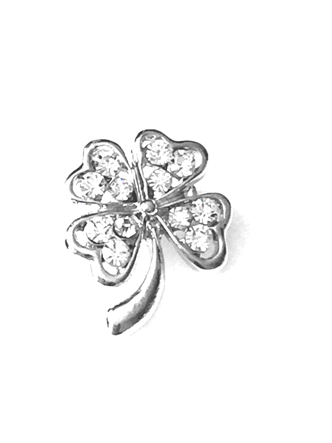 Four Leaf Clover Brooch, A great gift for St. Patrick's Day