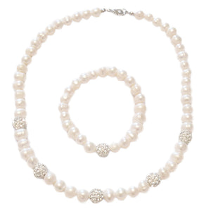 Natural Freshwater Pearl Jewellery Set by SOMMERSPARKLE