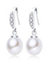 Freshwater Pearl Drop Earrings, fabulous pair of pearl drop earrings or give the gift of love to someone special.