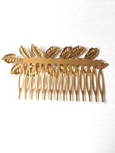 Gold Leaf Comb