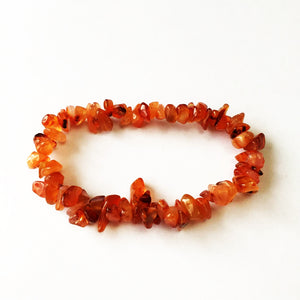 'Juliet' Red Jasper Gemstone Bracelet by SommerSparkle