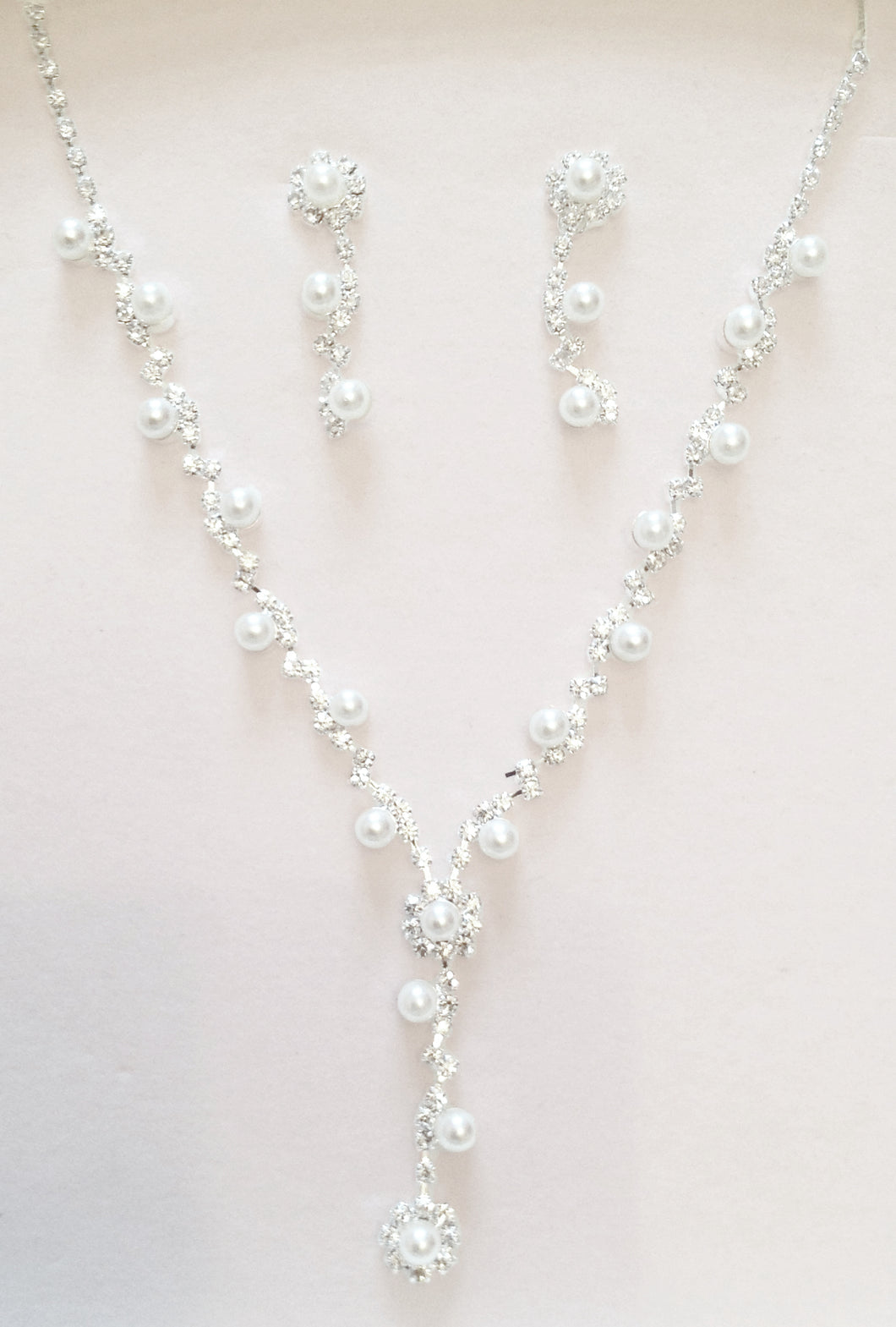 'Magical' Crystal & Pearl Jewellery Set, Feel like a Fairytale Princess with this breathtakingly beautiful jewellery set