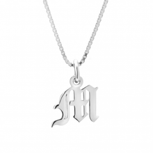 Personalised Medieval Style Initial Necklace