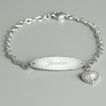 Personalised Child's Sterling Silver Bracelet by SommerSparkle