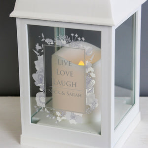 Personalised Dreamy Soft Watercolour Lantern