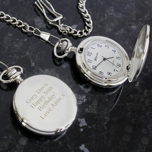Personalised Gentleman's Pocket Watch
