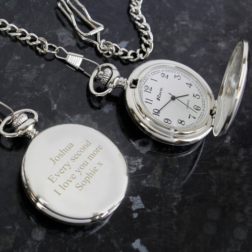 Personalised Gentleman's Pocket Watch from SommerSparkle