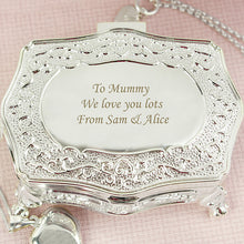 Personalised Petite Trinket Box
