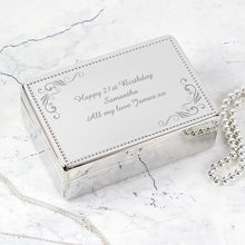 Personalised Prestige Jewellery Box from SommerSparkle