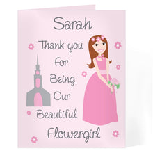 Personalised Wedding Thank You Card for Her