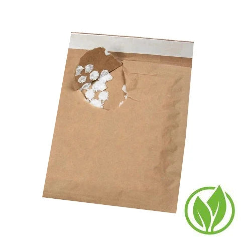 Eco-Friendly Bubble-Padded Mailers