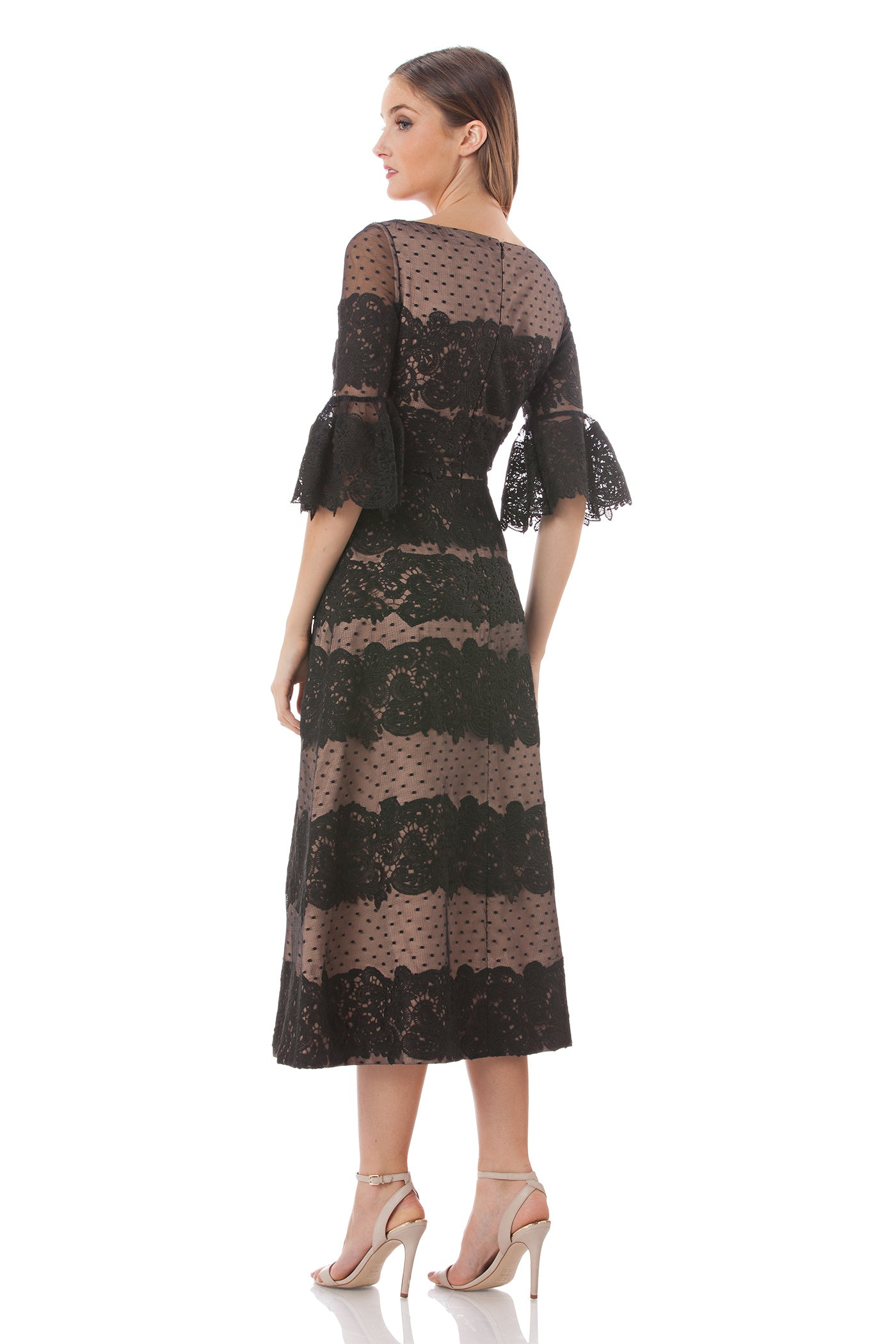 5995cd9864 Embroidered Mesh Midi Dress – collectionsjs