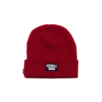 COLLEGE BEANIE RED