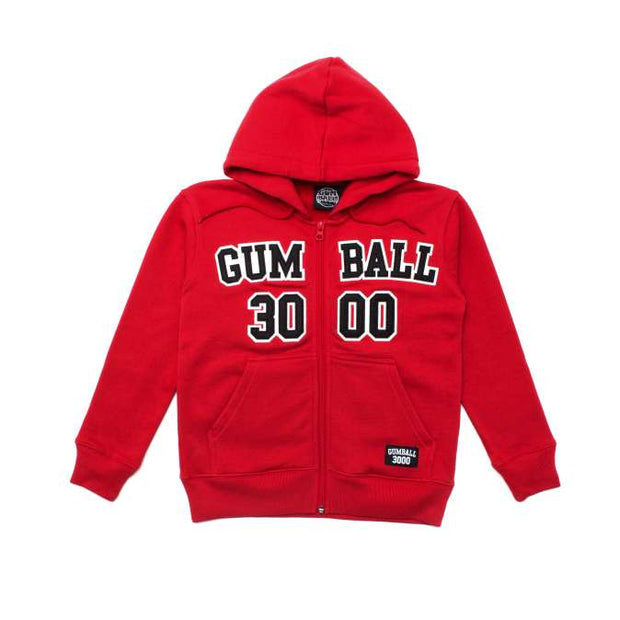 KIDS ATHLETE ZIP HOOD