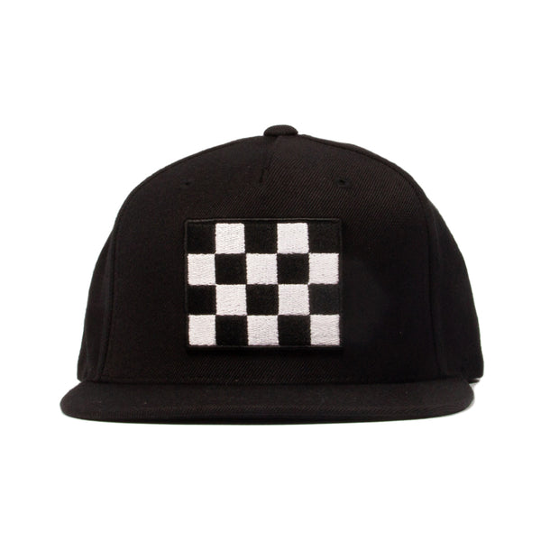 CHEQUERED SNAPBACK